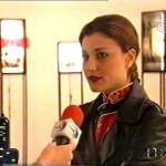 Aleksandra Kostic 1998, National Television 1, News, Belgrade