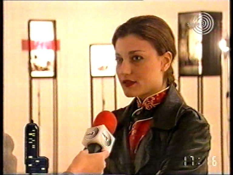 Aleksandra Kostic 1998, National Television 1, News, Belgrade