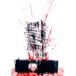 Eruption, Lithography, 50 x 70cm