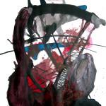 Methamorphosis of the passage, Mix media/paper, 100 x 70cm