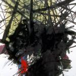 Breakthrough, Mix media/paper, 100 x 70cm